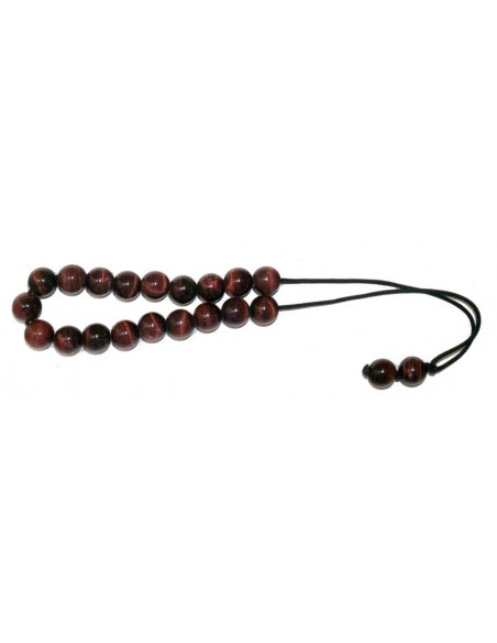 Worry beads red tiger eye