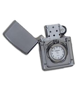 Αναπτήρας αντιανεμικός με ρολόι