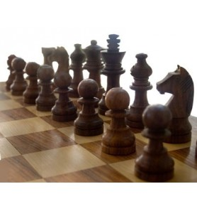 Ξύλινο Σκάκι Μαγνητικό