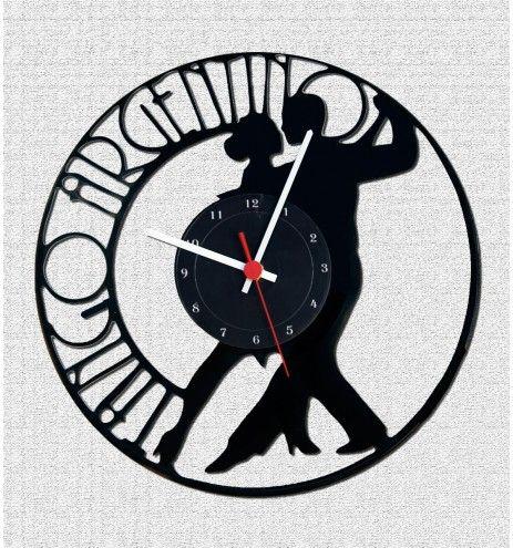 Ρολόι τοίχου απο βινίλιο