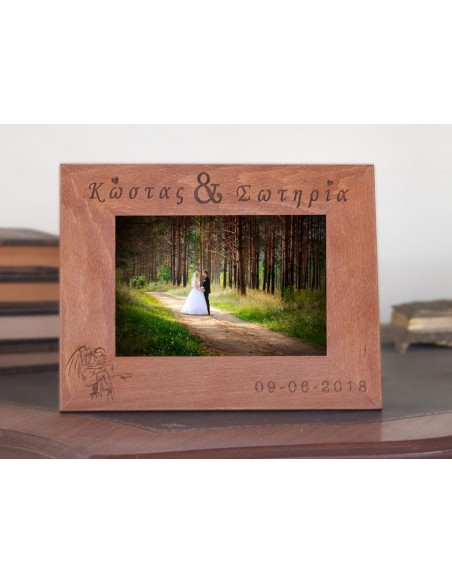 Personalized photo frame for wedding