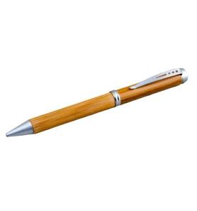 Στυλό από μπαμπού σε ξύλινη θήκη