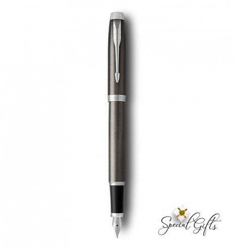 Πένα γραφής Parker Dark Espresso CT με χάραξη
