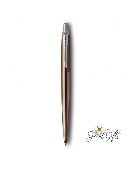 Στυλό Parker Jotter Premium Carlisle Brown Pinstripe CT