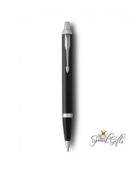 Στυλό Parker Black Lacquer CT με χάραξη