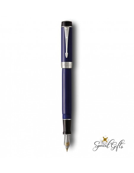 Fountain Pen Parker Blue & Black CT