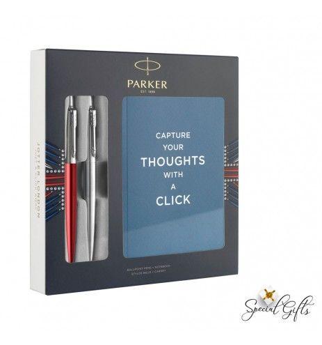 Parker Duo Jotter Core Steel - Κόκκινο