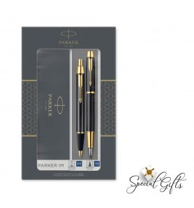 Set Parker FPen/BPen IM Duo Laque Black GT
