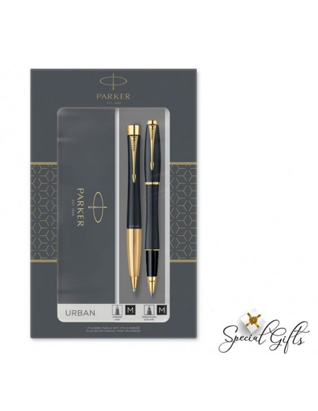 Set Parker RB Pen-BPen URBAN Duo Laque Black GT