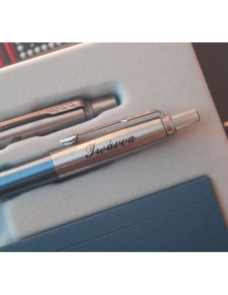 Parker Duo Jotter Core Steel - Γαλάζιο