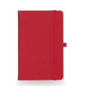 Σημειωματάριο Α5 με ρίγες κόκκινο