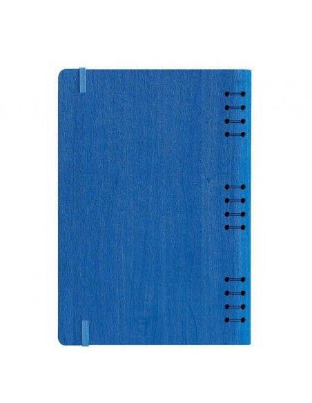 Ημερήσιο ημερολόγιο σπιράλ μπλε