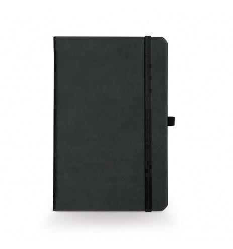 Σημειωματάριο με χάραξη μαύρο