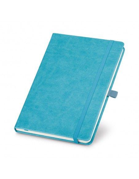 Σημειωματάριο Α5 με ρίγες γαλάζιο με δυνατότητα χάραξης
