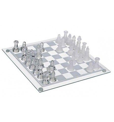 Σκάκι γυάλινο μεγάλο