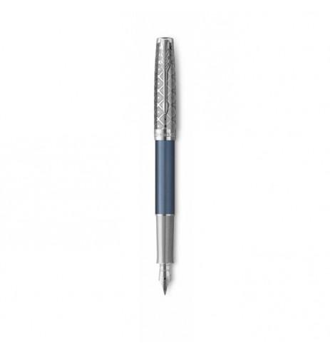 Πένα Parker Sonnet Premium Metal Blue CT