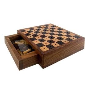 Ξύλινο Σκάκι Ταξιδίου