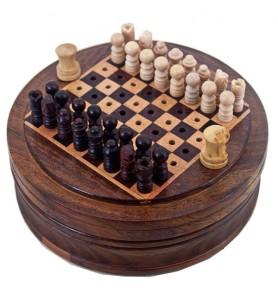 Σκάκι στρογγυλό mini