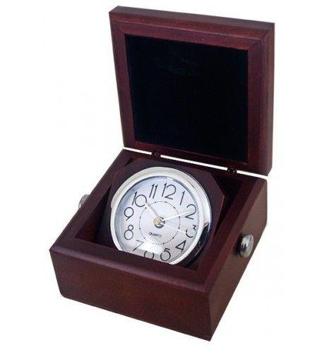 Ρολόι γραφείου ξύλινο