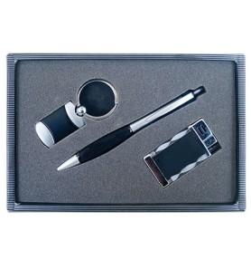 Σετ δώρου στυλό-μπρελόκ-αναπτήρας