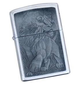 Αναπτήρας τύπου zippo Lion