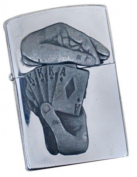 Αναπτήρας τύπου zippo cards