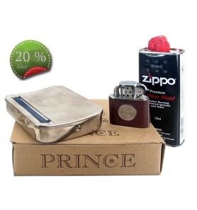 Ταμπακιέρα στριφτού - αναπτήρας - υγρό zippo