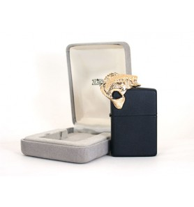 Zippo Sculpture series - Fish-black